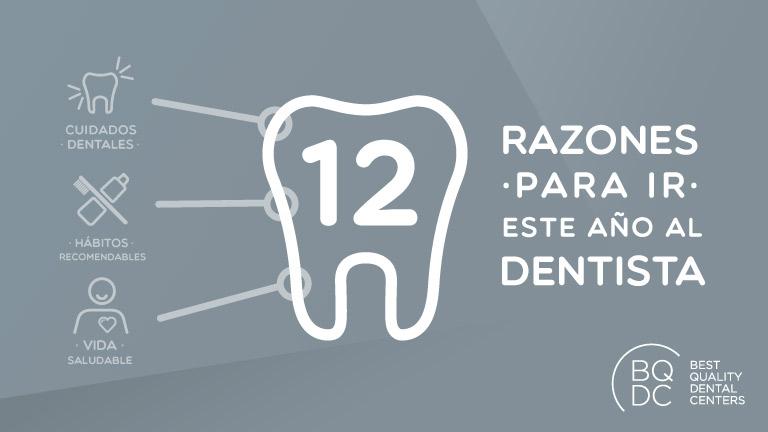 12 razones para ir al dentista