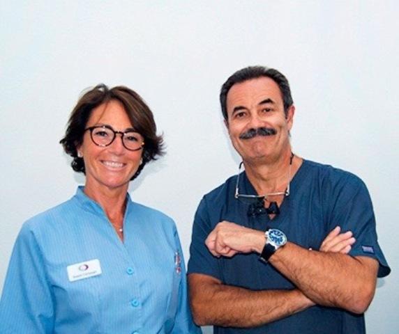 Dr Calderón y Dra Compagni