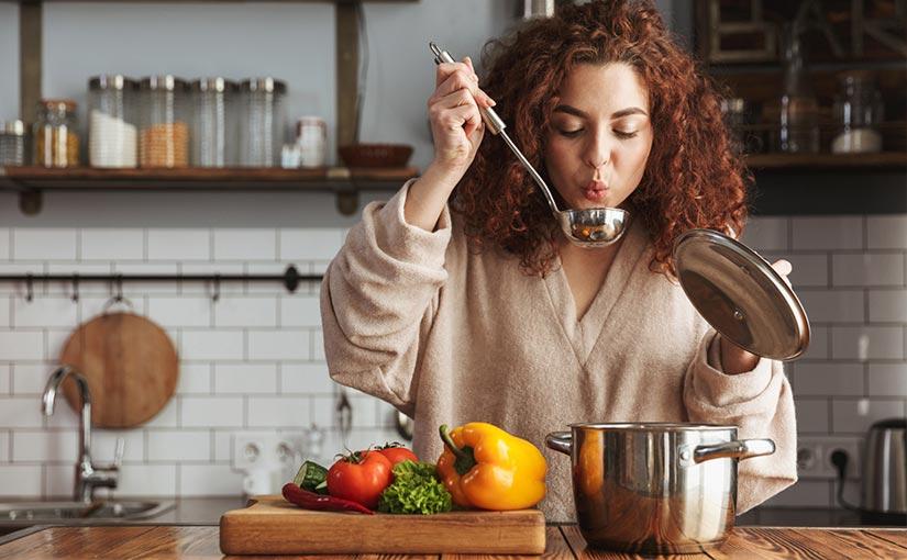 Buena alimentación para mantener unas encías sanas