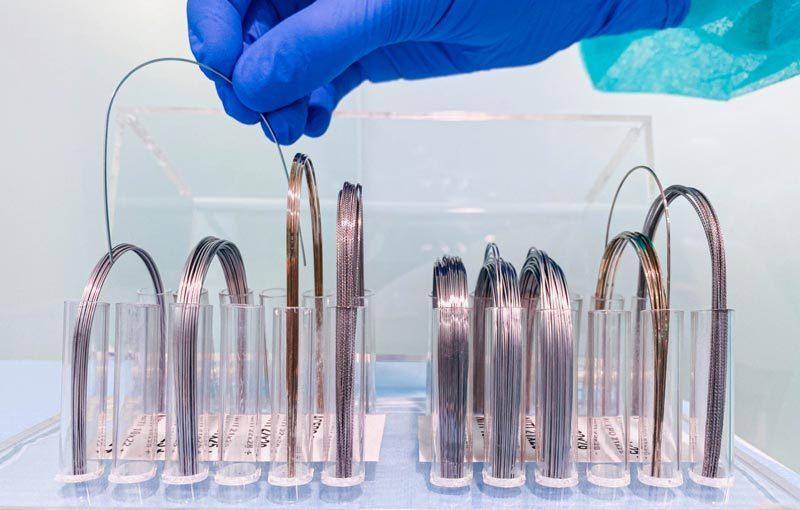 Tipos de arcos de ortodoncia