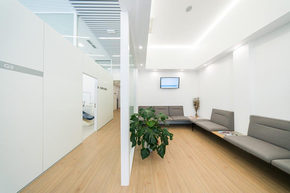 Sala de espera Nuño Gil en Burgos