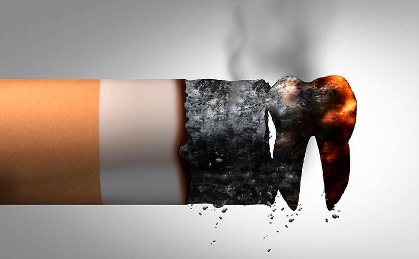 El tabaco puede provocar la pérdida de dientes