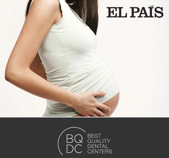 Artículo en El País - Odontología y embarazo