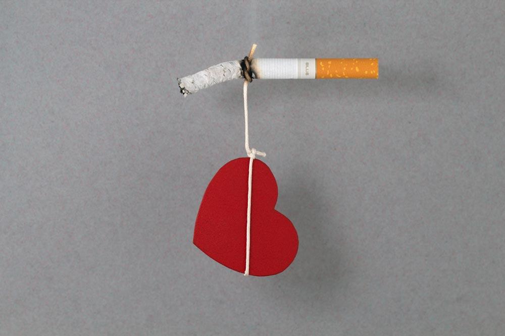Fumar reduce la salud