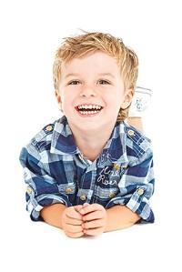 Visita de los niños a la clínica dental
