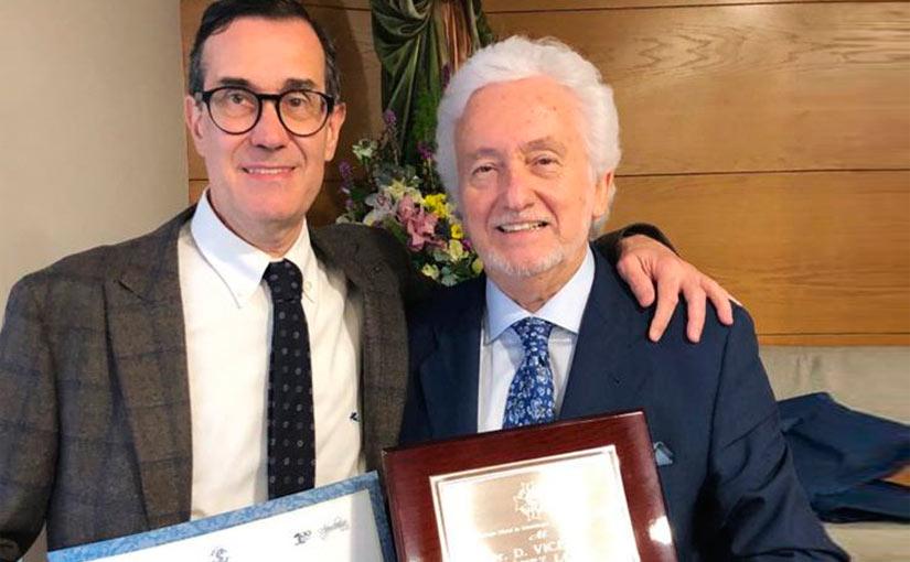 El Dr. Loscos y el Dr. Jiménez, premiados por el Colegio de Dentistas de Aragón