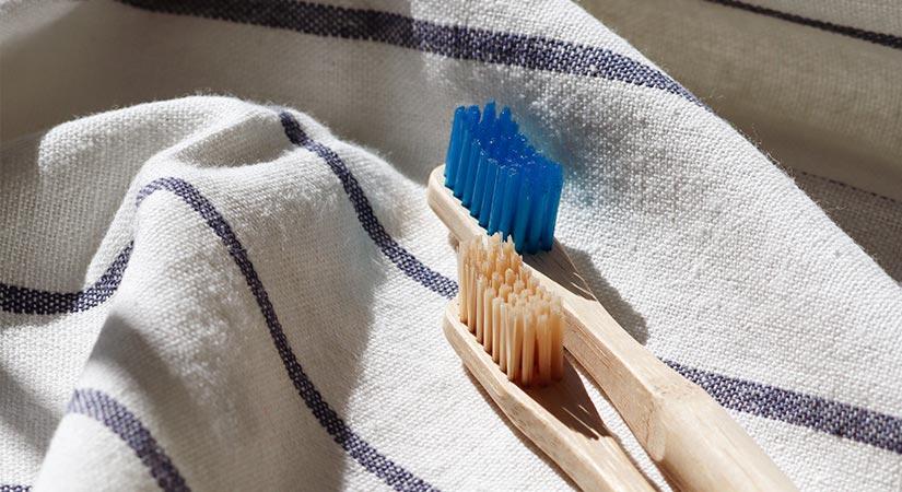 El tamaño del cepillo de dientes
