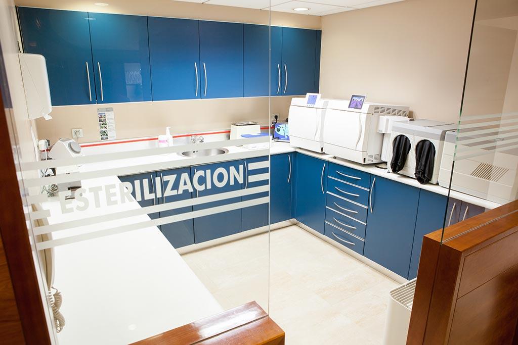 Zona de esterilización